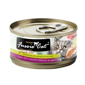 Fussie Cat® Tuna with Chicken Canned Cat Food