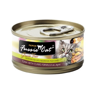Fussie Cat® Tuna with Clams Canned Cat Food