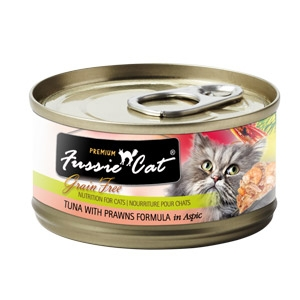 Fussie Cat® Tuna with Prawns Canned Cat Food
