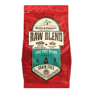 Cage Free Recipe Raw Blend Baked Kibble