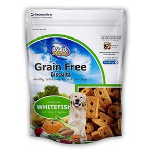 NutriSource® Grain Free Whitefish Biscuits