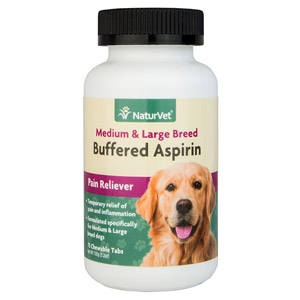 Buffered Aspirin Medium & Large Canine Breed Pain Reliever