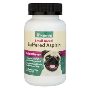 Buffered Aspirin Small Breed Canine Breed Pain Reliever