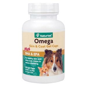 Omega Skin & Coat Gel Caps for Pets