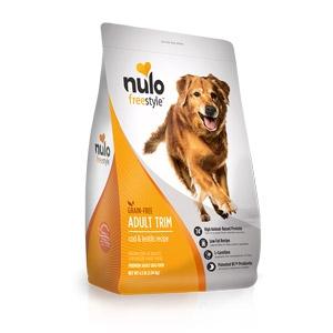 Nulo FreeStyle™ Grain Free Cod & Lentils Adult Trim Dog Food