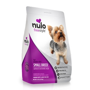 Nulo FreeStyle™ Grain Free Salmon & Red Lentils for Small Breed Dogs