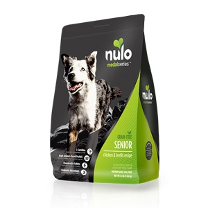 Nulo MedalSeries™ Grain Free Chicken & Lentils Senior Dog Food