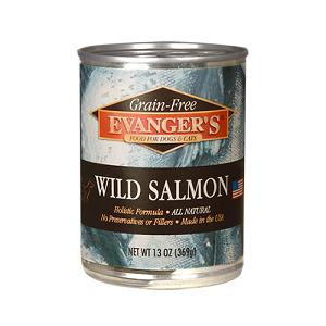 Evanger's Wild Salmon Dog/Cat 12/12 Oz