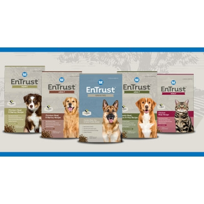 $3.00 off NEW Entrust Pet Foods