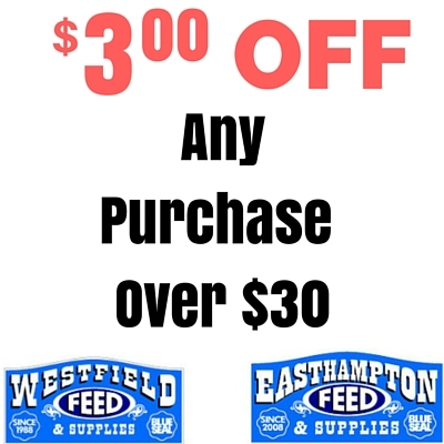 $3.00 OFF any purchase over $30.00