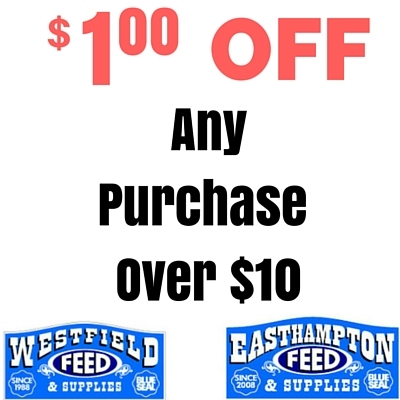 $1.00 OFF any purchase over $10.00