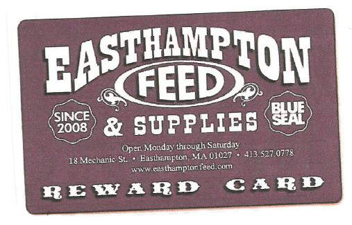 Easthampton Rewards Card