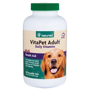 Naturvet Vita Pet Adult Multi-vitamin Tablets 60ct