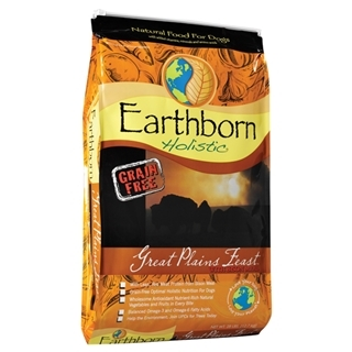 Earthborn Holistic Great Plains Feast Natural Grain-Free Dog Food 28 Pound