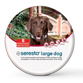 Bayer Seresto Large Dog Flea & Tick Collar