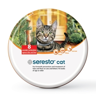 Bayer Seresto Flea & Tick Collar for Cats