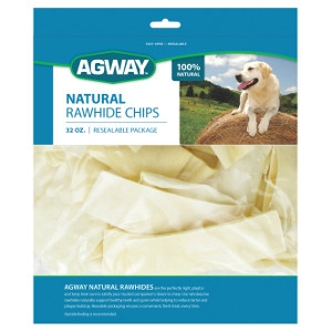 Agway™ Natural Rawhide Chips 32 oz.
