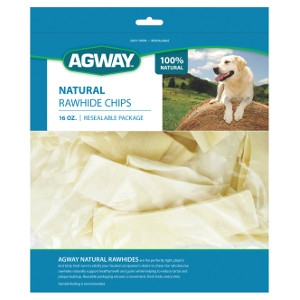 Agway™ Natural Rawhide Chips 16 oz.