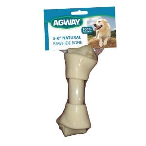 Agway™ Natural Rawhide Bone 5-6