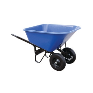10 Cu. Ft. Poly Wheelbarrow