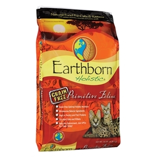 Earthborn Holistic Primitive Feline Natural Grain Free Cat Food 14 Pound