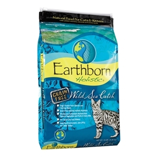 Earthborn Holistic Wild Sea Catch Natural Grain Free Cat Food 14 Pound