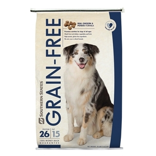 Southern States Grain Free Real Chicken and Potato Formula Dog Food 30 Pound