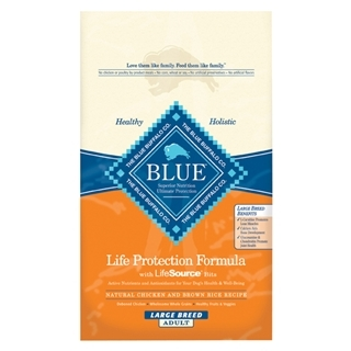 Blue Buffalo Life Protection Formula Large Breed Dog Food Chicken & Brown Rice