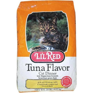 Lil Red Tuna Flavor Cat Dinner 20 Pound