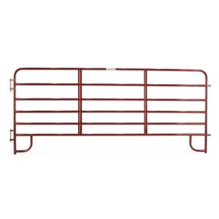 Tarter 6-Bar Economy Corral Panel Red 12 Foot