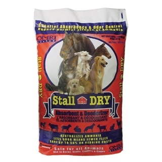 Stall Dry Absorbent and Deodorizer 40 Pound
