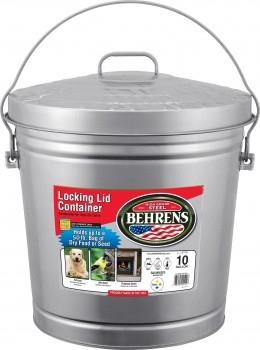 $3 Off Behrens Galvanized Steel Garbage Can