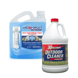 20% Off Wet & Forget and 30 Seconds Cleaner