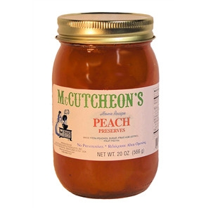 25% Off McCutcheon's Peach Preserves