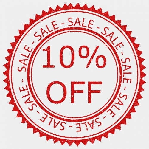 Additional 10% Off on Clearance Items