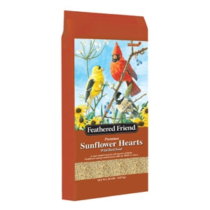 Feathered Friend Sunflower Hearts 40lb $45.99
