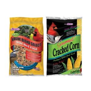 Brown's® Value Blend or Cracked Corn 4lb $1.49/ea.