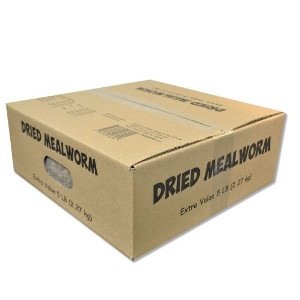 Unipet Dried Mealworms 5lb Box $38.99