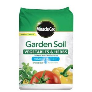 Miracle-Gro® Vegetables & Herbs Garden Soil $5.99