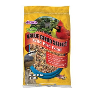 Buy Any Birdfeeder & Get Brown's Value Blend FREE