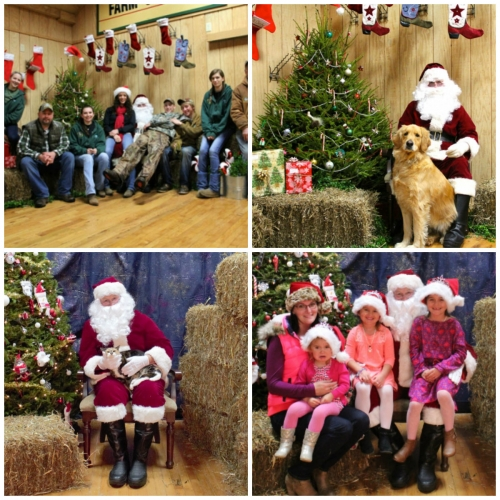 Our 20th Annual Pictures with Santa