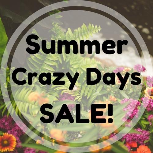 3 Days Only - Summer Crazy Days Sale