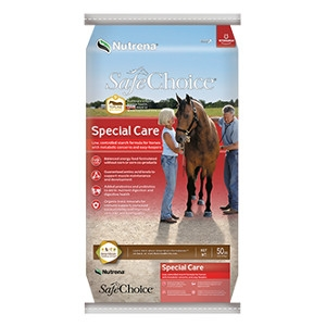 SafeChoice Special Care Horse Feed 50lb $13.99