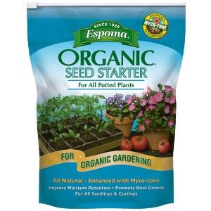 Espoma Organic Seed Starter Mix 16qt $8.99