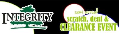 Semi-Annual Scratch, Dent & Clearance Event!