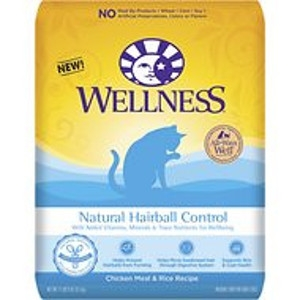 Wellness® Natural Hairball Control- 5lbs
