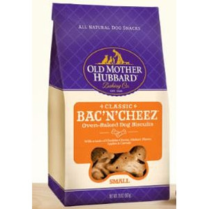 Classic Bac' N' Cheez Oven-Baked Dog Biscuits 3.5 Oz.