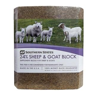 Southern States 24% Sheep & Goat Block 33 1/3 Lb.