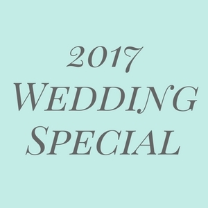 Save 10% Off Your 2017 Wedding