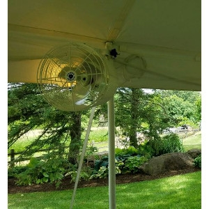 Tent Fans - Installed